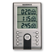 Maverick Professional Digital 3-Line Timer and Clo
