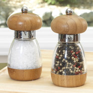 Salt &amp; Pepper Mill Set, Bamboo - SET OF 2