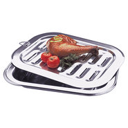 Progressive Stainless Steel Broiler Pan - Small