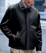 New Zealand Open Bottom Lambskin Jacket- Big Sizes