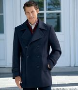 Executive Wool Peacoat JoS. A. Bank