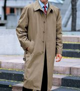 Full Length Tri-Blend Raincoat Extended Sizes JoS.