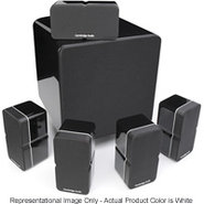 Minx 325 5.1 Channel White Home Theater Speaker Sy