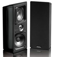 Mythos Gem Bookshelf Satellite Black Pair Speakers