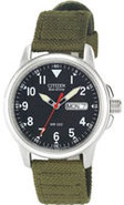 Eco-Drive Military Caliber E100 Mens Watch - BM818