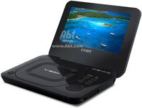 7   Portable Black DVD Player - TFDVD7011