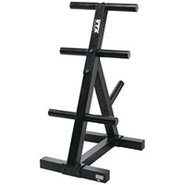 Troy Barbell Olympic Plate Rack Tree - T-OPT