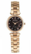 Rose Gold Tone Stainless Steel Womens Watch - 109S