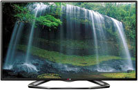 55   Black LED 1080P 120Hz 3D Smart HDTV - 55LA620