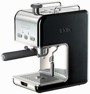 Black kMix Pump Espresso Machine - DES02BK