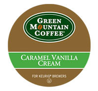 18 Count Green Mountain Coffee Caramel Vanilla Cre