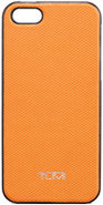 Orange Leather Cover For iPhone 5 - 014255ORG5