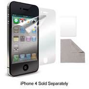iPhone 4 CDMA Glare-Free Screen Protector Film - I