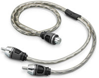 Twisted Pair Audio Y-Adapter Cable - XD-CLRAICY-1F