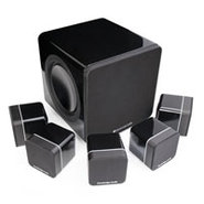 Minx 215 Black Home Theatre Speaker System - S215S