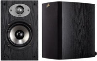 TSx Series Black 2-Way Bookshelf Speakers - AM6115