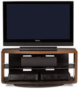 Valera Series 9724 Espresso TV Stand - VALERA9724E