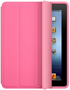 Pink Polyurethane iPad 2/3 Smart Case - MD456LLA