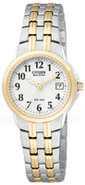 Eco-Drive Two-Tone Silhouette Sport Ladies Watch -