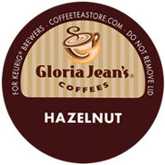 18 Count Gloria Jeans Hazelnut K-Cup Coffee Pods -