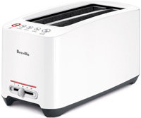 White Lift And Look Touch 4-Slice Toaster - BTA630