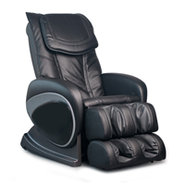 Reclining Shiatsu Function Black Massage Chair - E