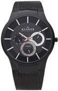 Black Titanium Multifunction Mens Watch - 809XLTBB