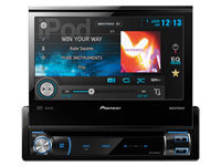 Double-DIN Multimedia DVD Receiver - AVH-X6500DVD