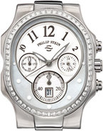 Classic Large Chronograph Stainless Steel Case - 2