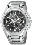 Eco-Drive Titanium Chronograph Mens Watch - AT0940