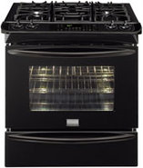 Gallery 30   Slide In Gas Range In Black - FGGS306