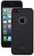 iGlaze Graphite Black iPhone 5 Snap On Case - 99MO