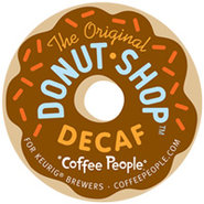 18 Count Coffee People The Original Donut Shop Dec