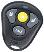 Black 4 Button Remote - 474T