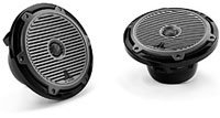 M Series 7.7   Coaxial Black Marine Speakers - M77