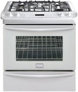 Gallery 30   Slide In Gas Range In White - FGGS304