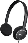 Childrens Headphones In Black - MDR-222KD/BLK