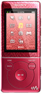 8GB Red E Series Walkman Video MP3 Player - NWZE47