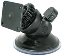 Black GPS Low-Pro Windshield Mount - SWM-400-BL