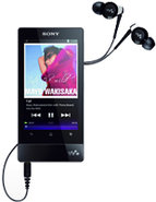 16GB Black F Series Walkman Video MP3 Player - NWZ