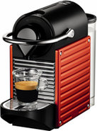 Pixie Electric Red Espresso Machine - C60RE