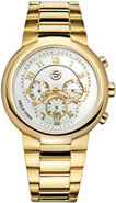 Active Large Gold Tone Watch - 32-AGW-GSS