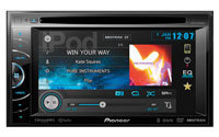 Double-DIN Multimedia DVD Receiver With HD Radio -