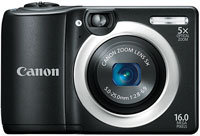 PowerShot A1400 Black 16.0 Megapixel Digital Camer