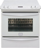 Gallery 30   Slide In Electric Range In White - FG