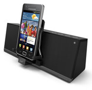 MobiAir Bluetooth Black Stereo Speaker Dock - iMM3