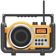 Compact FM / AM Ultra Rugged Radio Receiver - LUNC