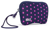 Built Navy Mini Dot Compact Zip Camera Case - E-ZC