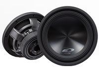 12   Type-E Series Black Subwoofer - SWE-12S4