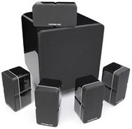 Minx 325 5.1 Channel Black Home Theater Speaker Sy
